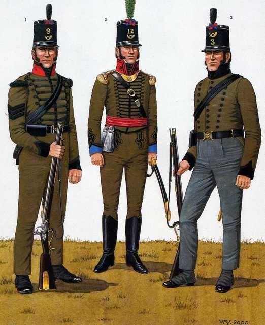 Portuguese light Infantry Riflemen (Cacadores)