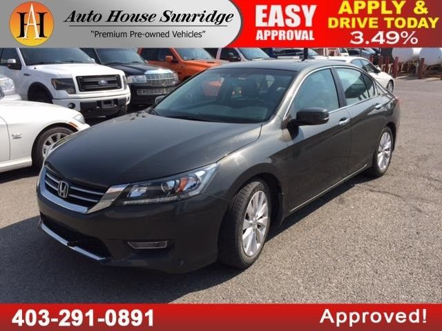 auto house - sunridge amvic licenced dealer auto house sunridge - instant approval! all credit accepted on 2013 2014 2015 2016, specializing in credit rebuild programs for everyone across canada2013 honda accord sedan ex l with low 49279 kms, leather heated seats, sunroof, backup camera, bluetooth, power seats locks and windows, cruise control and much more!all vehicles inspec