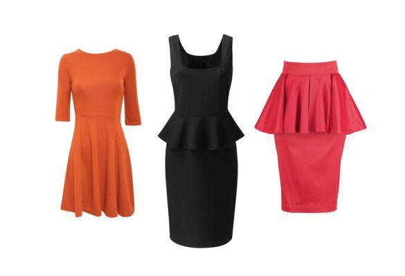 Peplum Top: Pilot, Peplum Dress: Simply Be, Peplum Skirt   I wanna tryyyy