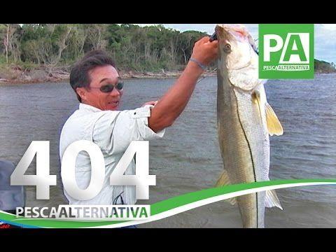 Programa Pesca Alternativa - Nelson Nakamura e os Grandes Robalos.