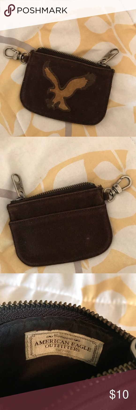 American eagle change purse! 💼 Slightly used vintage change purse from American eagle! American Eagle Outfitters Bags Wallets