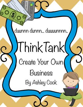 Who doesnt love the show Shark Tank and the American dream of creating something and making it successful? This lesson inspires your students to do just that! This Includes:Teacher notes and lesson guide with links to enrich the lesson.4 Business Plan Pages.