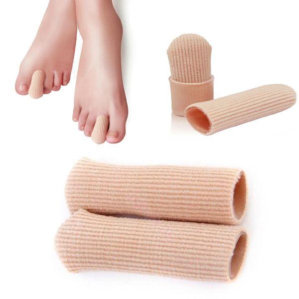 Wholesale 10pcs/lot Gel Cap Finger Toe Blister Callouses Relief Tube Protector Small Foot Care Health Toe health