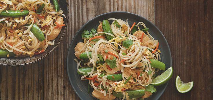 Weeknight Chicken Pad Thai