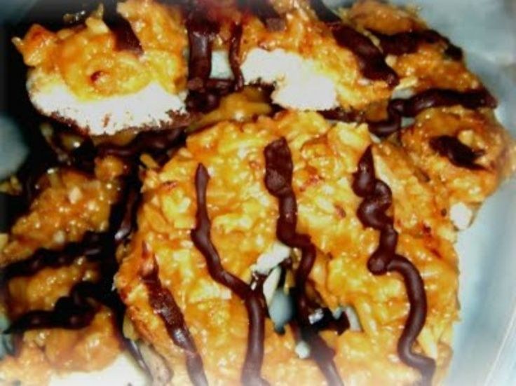 Homemade Gril Scout Samoas Cookie- Caramel Delight   Divas Can Cook
