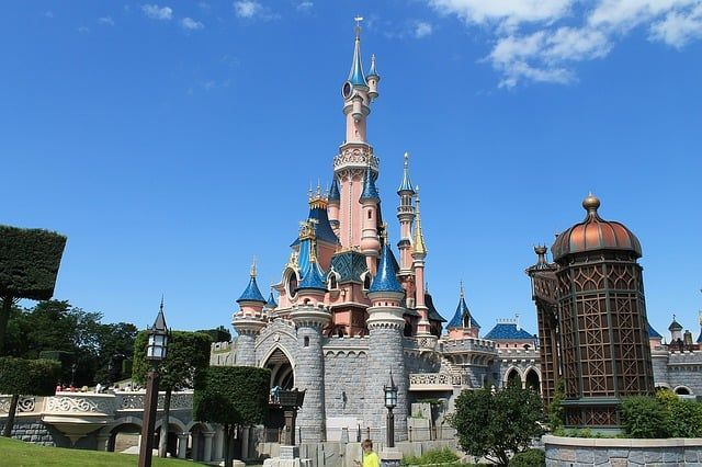 best day trips from Paris with kids - disneyland castle-1119788_640