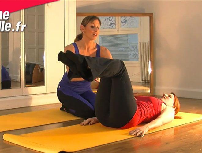 Si vous rêvez d'avoir un ventre plat, alors renforcez vos abdominaux grâce à ce super exercice de Pilates minceur. Muriel Gaudin avec Studio Prisma