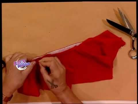 Hermenegildo Zampar explica la costura del cuello camisero. Visitá www.bienvenidas.com