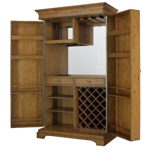 Found It At Wayfair   Hidden Treasures Bar Cabinet With Wine Storage