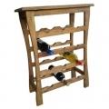 12 bottles capacity wine rack