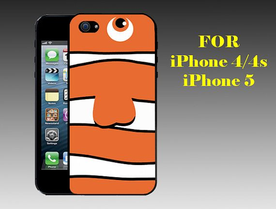 Finding Nemo - Print on Hard Cover iPhone 5 Black Case - iPhone 4/4s Case - Please Leave a Note For the Type Case and Color Case