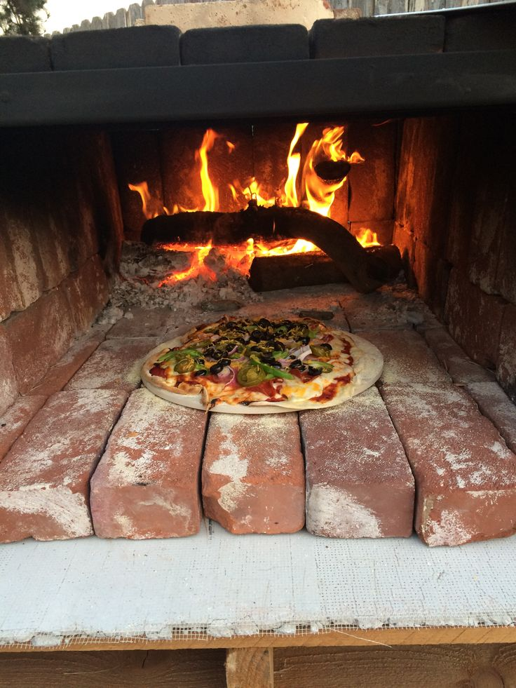 1000 images about brick oven pizza on wheels on pinterest smokers step by step and bbq grill - Outdoor stone ovens ...