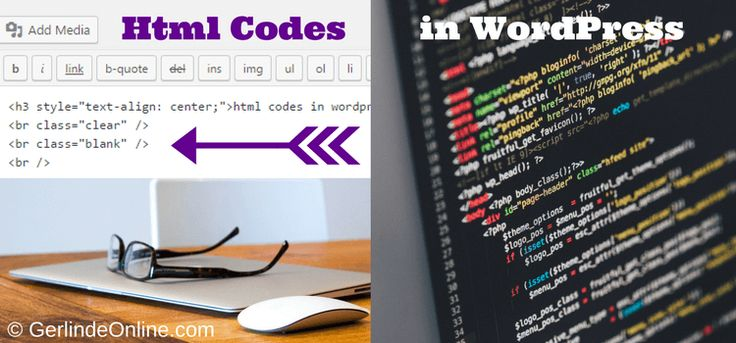 Some Easy Html Codes in WordPress