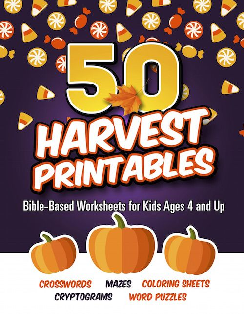 Harvest Bible Printables Mazes Coloring Sheets