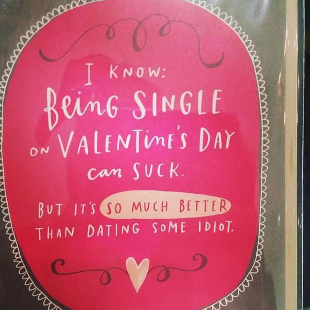 Lol...found this card and gave it to one of my friends...She stopped complaining about being single!!! Lol