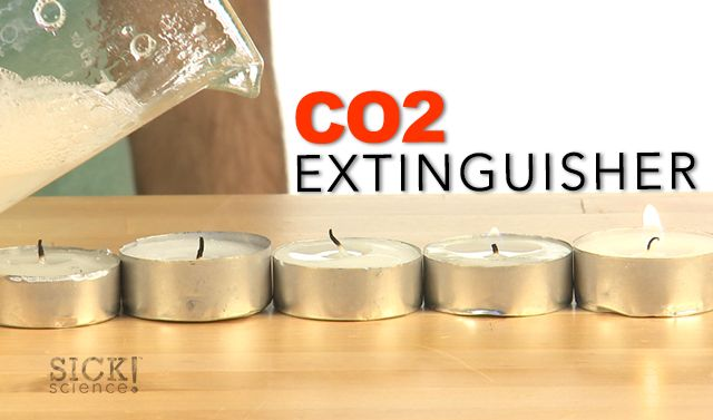 What science magic is putting out these candles? http://www.stevespanglerscience.com/lab/experiments/co2-extinguisher #sickscience #stevespangler #spangler #science #DIY #experiment #Education #Sick