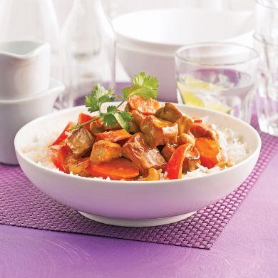 Sauté de porc au cari - Recettes - Cuisine et nutrition - Pratico Pratiques
