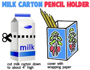 Milk Carton Crafts for Kids : Ideas for Arts and Crafts Activities & Projects with Milk Cartons for Children, Teens, and Preschoolers