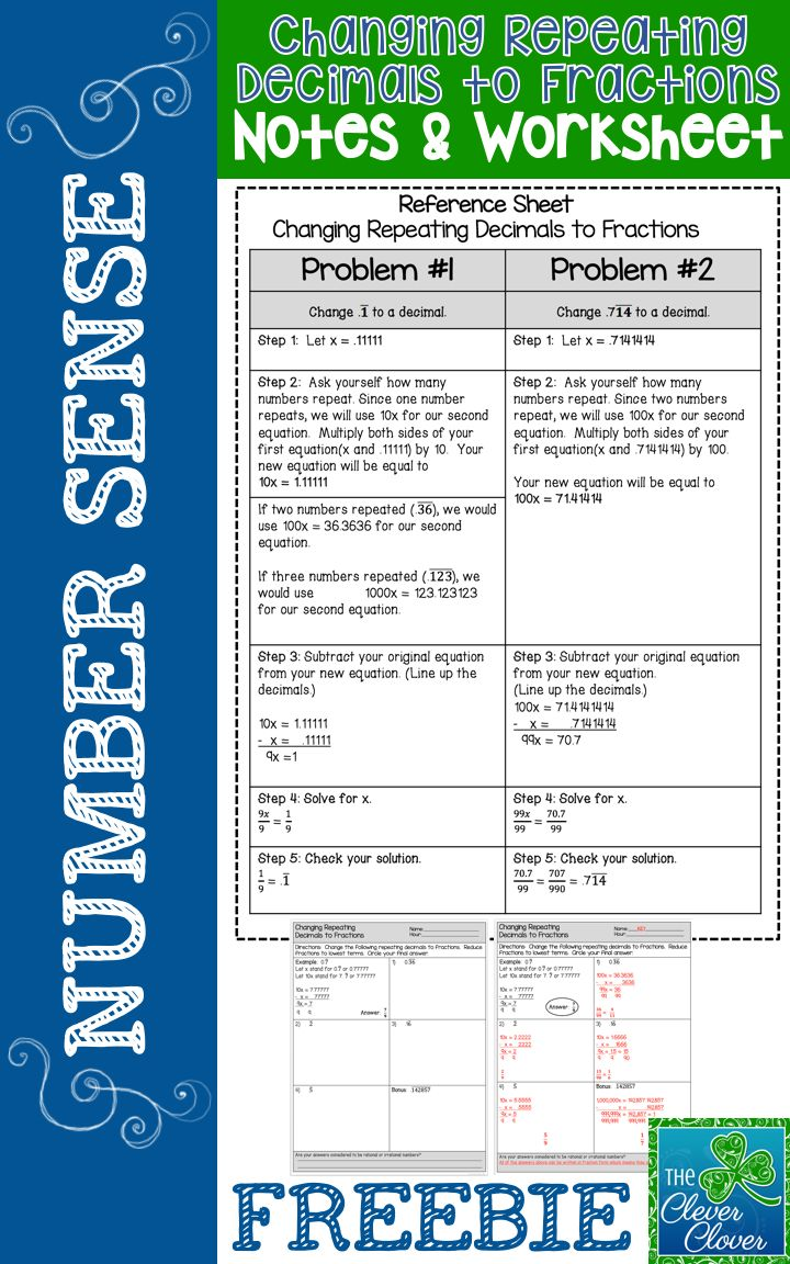 221 best free 6 12 ebooks and resources images on pinterest changing repeating decimals to fractions freebie biocorpaavc Choice Image