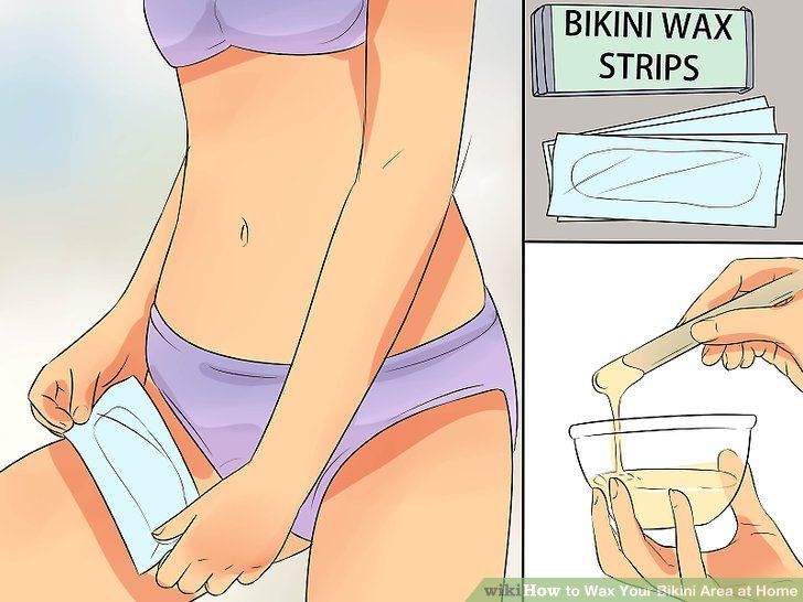 Waxing Bikini Area at Home with Professional Results
