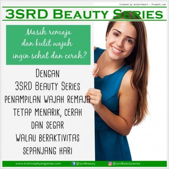 Cream Pencerah Wajah Remaja yang Bagus dan Aman dari 3SRD Beauty Series  | Contact us: Pin: D537A6EE, WA: 0856-2322-435, Line: @yty1701c (pakai @)