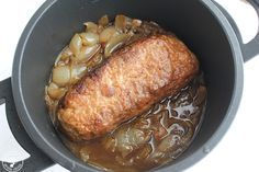 Receta Rollo de carne picada con salsa www.cocinandoentreolivos.com (20)