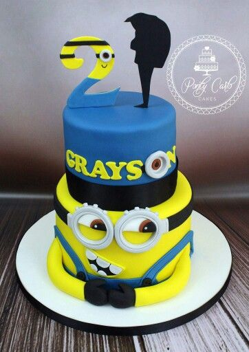 17 Best Images About Despicable Me Fondant Cake On
