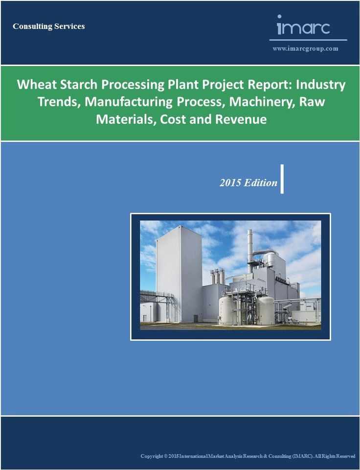 Corn Starch Manufacturing Plant Project Report  Corn Starch And