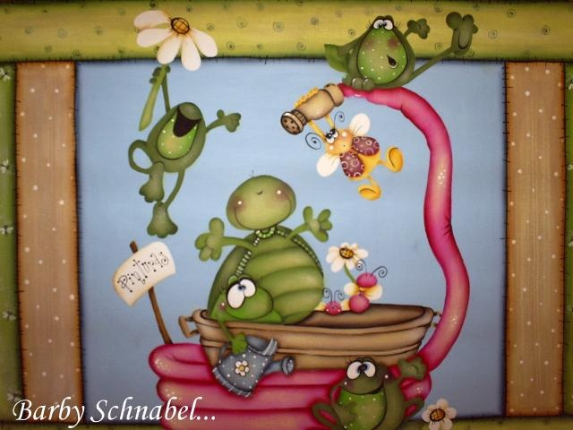 Pintura en madera.  Prof. Barby Schnabel  barbycountry@hotmail.com