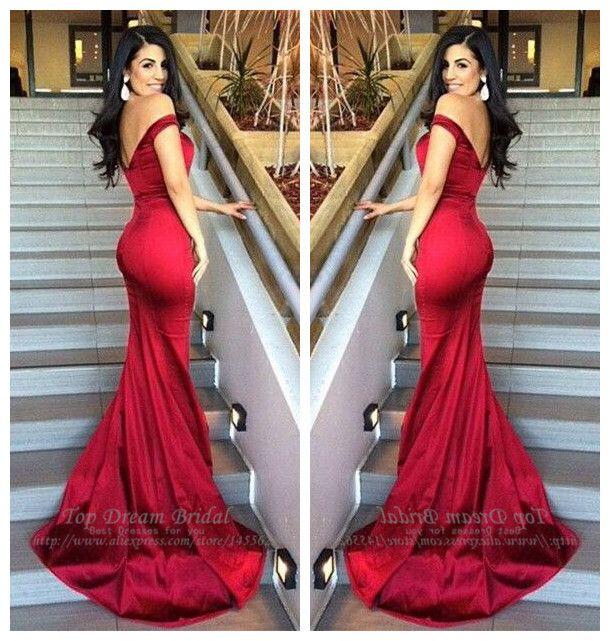 Купить товарСексуальная быстрая доставка v образным вырезом красный пром платья v назад длиной до пола русалка ну вечеринку пром платья атласная длинные платья в категории Выпускные платьяна AliExpress.                             Атлас                   Шифон                Органзы