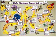 Jogo da Trilha - Bíblia