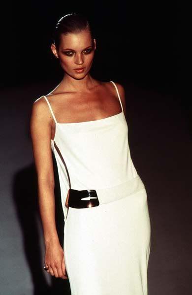 Kate Moss at Gucci F/W 1996