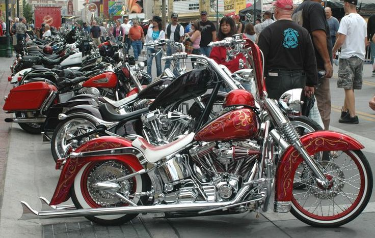 Fall Bikers Rally in Reno WIth Music and Motorcycles