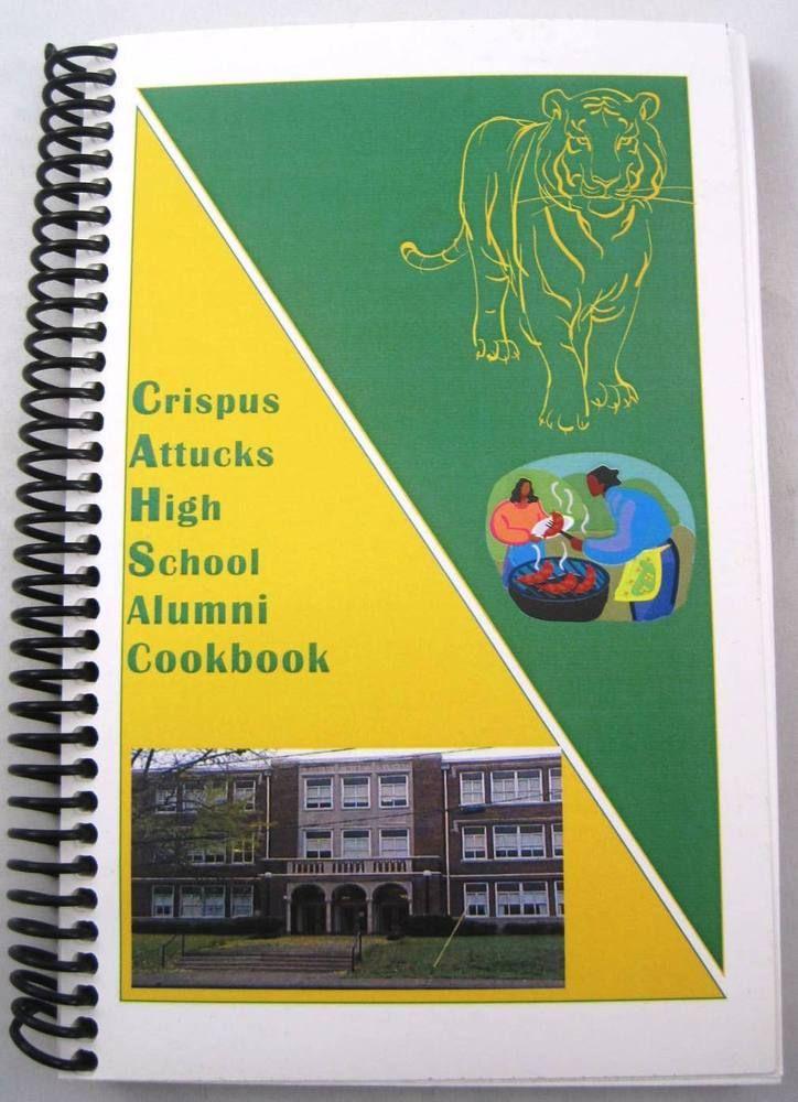 Crispus Attucks High School Alumni Class of 1950 Cookbook Indianapolis Indiana.  Available at BooksBySam.com