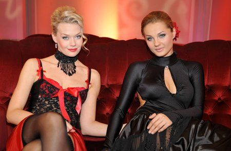 Tamara Arciuch i Małgorzata Socha