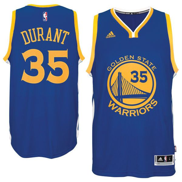 Men's Kevin Durant Golden State Warriors Blue Swingman Jersey by adidas. Pro Image Sports at Mall of America. - Material: 100% Polyester - climacool ® technology conducts sweat and heat away from the