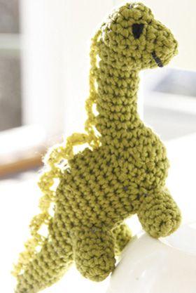 Gratis hækleopskrifter | Hæklet dinosaur bamse | Sjov hækling til børn |Håndarbejde | HækletStrikket i 100% bomuld | Hyggeligt hækleprojekt til dig | Håndarbejde