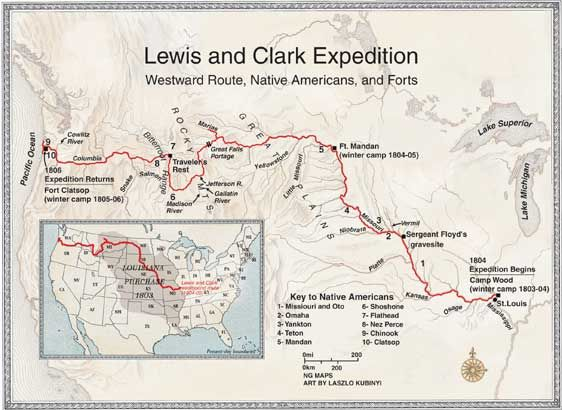 comparison of lewis and clark to christopher columbus Lewis & clark meriwether lewis and they both were entranced by the voyages of such famous explorers as christopher columbus lewis and clark were immediately.