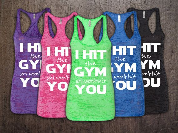 30 best all fitz fashion images on pinterest coupon codes press i hit the gym racerback workout tank topsworkout tank workout clothesgym fandeluxe Gallery