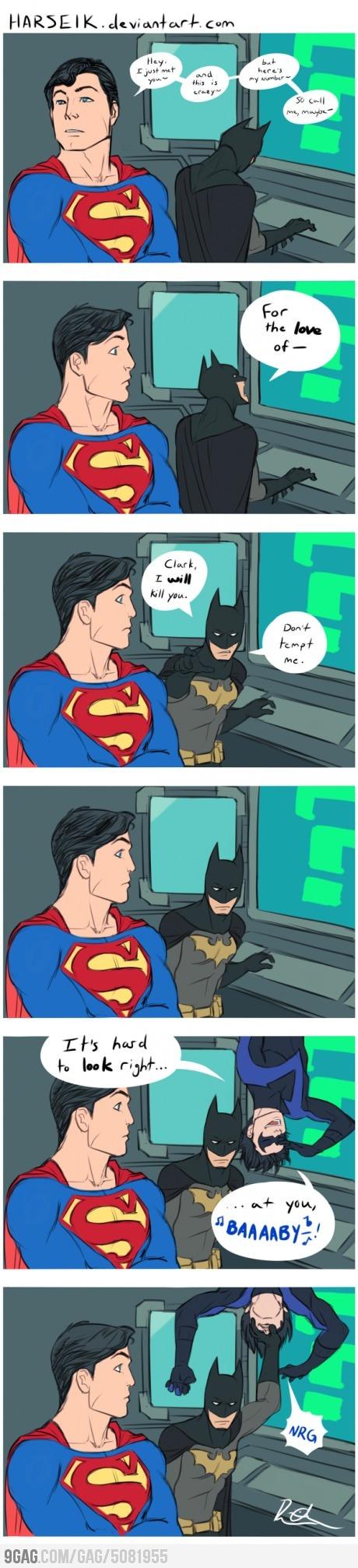 Batman Hates 'Call Me Maybe'    WIN!