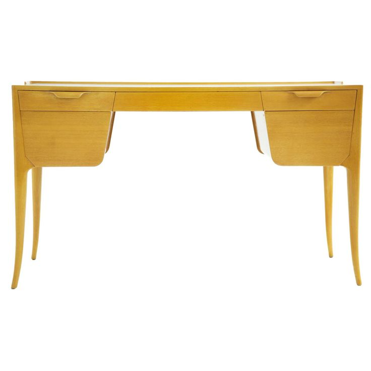 Edward Wormley Writing Desk | From a unique collection of antique and modern desks at https://www.1stdibs.com/furniture/storage-case-pieces/desks/