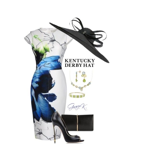 """Kentucky Derby Hat 3"" by gracekathryn on Polyvore"