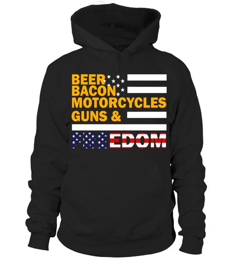 """# Beer Bacon Motorcycles Guns and Freedom America flag Shirt .  Special Offer, not available in shops      Comes in a variety of styles and colours      Buy yours now before it is too late!      Secured payment via Visa / Mastercard / Amex / PayPal      How to place an order            Choose the model from the drop-down menu      Click on """"Buy it now""""      Choose the size and the quantity      Add your delivery address and bank details      And that's it!      Tags: Beer Bacon Motorcycles…"""