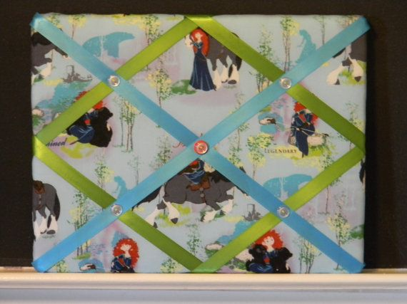 11 x 14  Merida Disney Princess from Brave by naptimepillowsnmore, $20.00