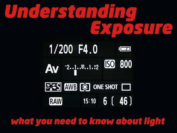 Understanding Exposure: what you need to know about light to take pictures that shine