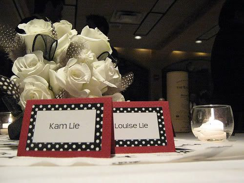 ~Make Your Own Wedding Place Cards~ Wedding place cards can be done in the convenience of your home.
