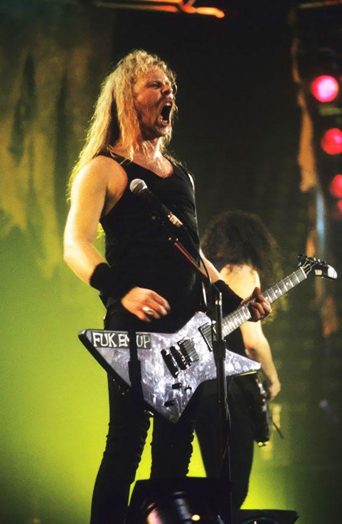 James Hetfield #metallica
