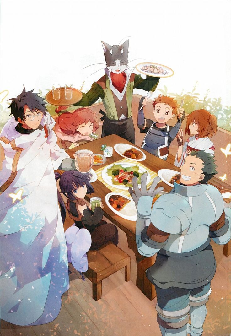 Dinner in the guild - Log Horizon ~ DarksideAnime