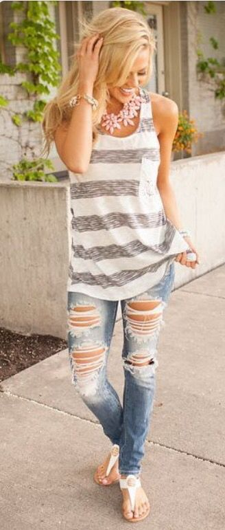 Summer or Spring Outfit 2016. Try stitch fix :) personal styling service review! 1. Sign up with my referral link. (Just click pic) 2. Fill out style profile!Make sure to be specific in notes. 3. Schedule fix and Enjoy :) There's a $20 styling fee but will be put towards any purchase!
