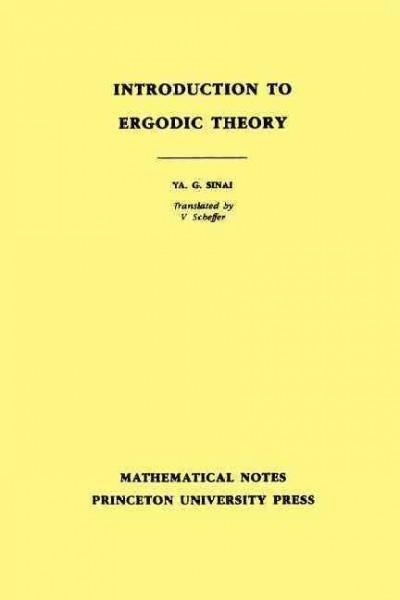 Introduction to Ergodic Theory